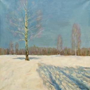 Однодневная выставка произведений Е.И.Зверькова во Ржеве
