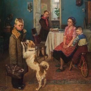 Выставка «Семья – душа России» в Царицино.