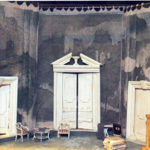 М. М. Курилко-Рюмин. Макет декорации к опере Дж.Верда  «Риголетто».2005