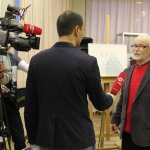 Проект «Геннадий Райшев: Легенда о Тонье» в Ханты-Мансийске.
