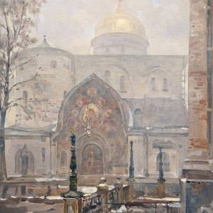 «Слава в вышних Богу…»  Выставка произведений В.Нестернко в Москве.