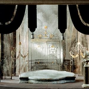 М. М. Курилко-Рюмин. Макет декорации к опере «Пиковая дама» П.И.Чайковского.1990