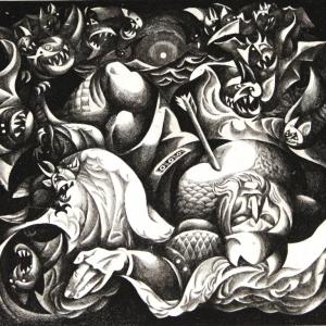 Выставка «Каким видел мир Виталий Волович» в Ханты-Мансийске.