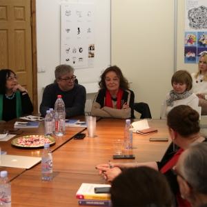 Круглый стол «Женщины в дизайне» в Центральном доме дизайнеров