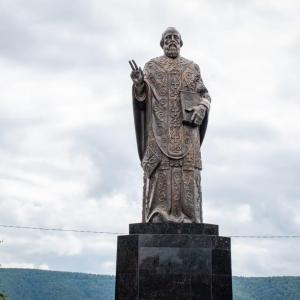 Памятник Николаю Чудотворцу работы З.К.Церетели открыт в Николаевске-на-Амуре