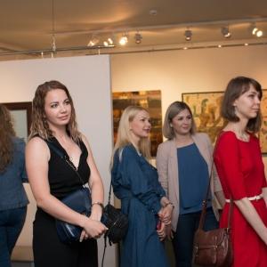 «10 лет с вами». Юбилейная выставка Южного отделения Российской академии художеств в Ставрополе.