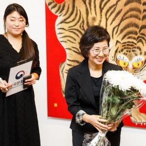 «Живопись минхва. Утопия корейского народа». Выставка произведений Со Гон Им (Республика Корея) в МВК РАХ