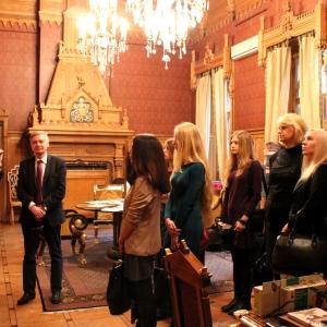 Посещение РАХ студентами Ялтинского филиала Симферопольского университета.