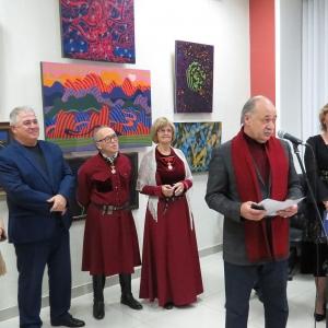 03.11 2019 - 28.11.2019. Выставка произведений М.И.Кишева в Нальчике к 80-летию художника.