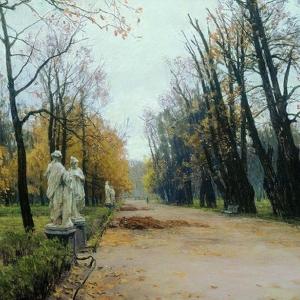 А.М.Грицай (1914-1998). Летний сад. 1956