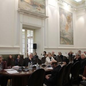 0.11.2018. Российская академия художеств. Конференция «Новые технологии в развитии современного художественного стекла»