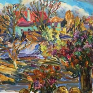 «Грани южнорусского импрессионизма». Выставка произведений Ларисы Ушаковой в Ставрополе.