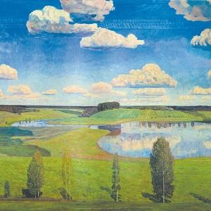 В.М.Сидоров. Тихая моя родина, 1985