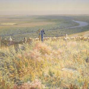 Выставка произведений Алексея Попова в Академии Сергея Андрияки в Москве