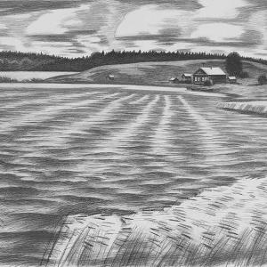 В.В.Дранишников (1936-2019). Из серии «О северном Урале»