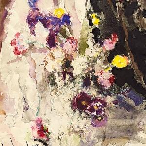 """16.10.2018 -18.11.2018. Галерея искусств Зураба Церетели. Выставка """"Артур Фонвизин (1883-1973). Остановись, мгновенье..."""" Акварель, литография..."""