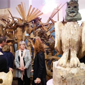 Проект «Когда искусство становится частью ландшафта. Часть II» в Музее С.Т. Конёнкова.