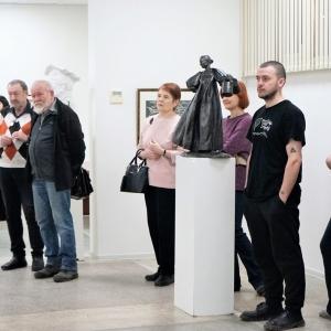 «Пересечение времен». Выставка графики и скульптуры в Красноярске