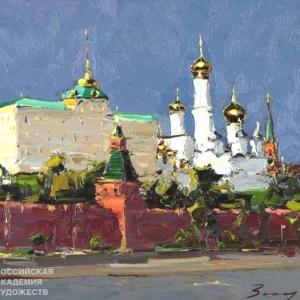 «Времена года».  Выставка произведений Андрея Захарова в Москве.