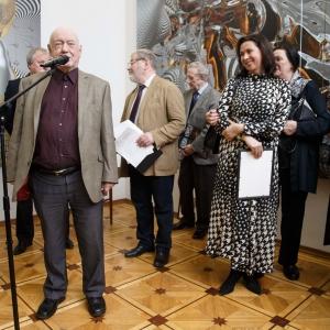 Проект «Световая и фарфоровая природа женщины» Константина, Марины и Александры Худяковых в Российской академии художеств