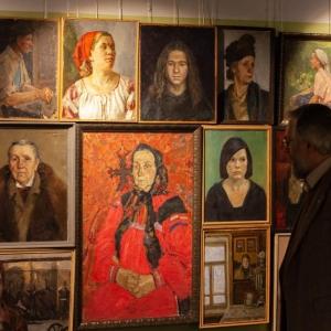 «Отражения». Выставка портрета из фондов МАХЛ при РАХ.