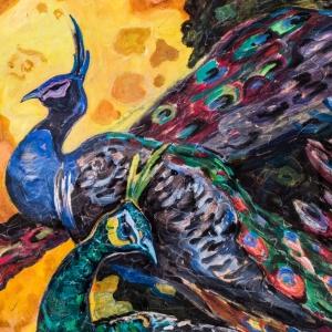 Выставка «Нателла Тоидзе. Скульптура цвета» в Новом Манеже.