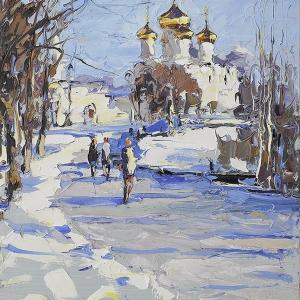 Две палитры». Выставка живописи Марины и Андрея Захаровых в Ярославле