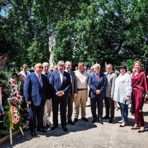 Открытие памятника Алексею Церетелеву работы З.К. Церетели в Болгарии