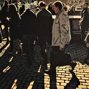 Всероссийская молодежная выставка-конкурс «Новое время» и круглый стол «Искусство молодых. Диалог поколений» на Крымском валу, 10