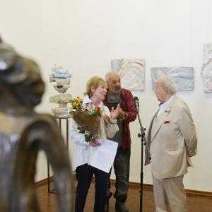 Выставка произведений Елены Пасхиной в Российской академии художеств