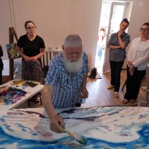 Международный живописный симпозиум «Жемчужина России Эльбрус-2019»