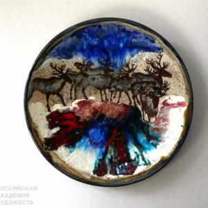 «Наследие Югры». Выставка произведений Галиныи Александра Визель в г.Ханты-Мансийск