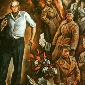 И.И.Симонов (1927-2019).Память. 1985.