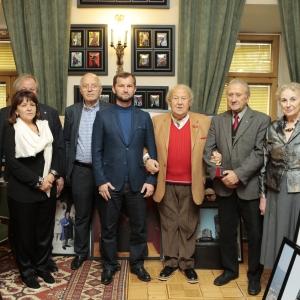 Визит Министра культуры Чеченской Республики в Российскую академию художеств.
