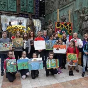 Мастер-класс З.К.Церетели для участников конкурса «Дадим шар земной детям».