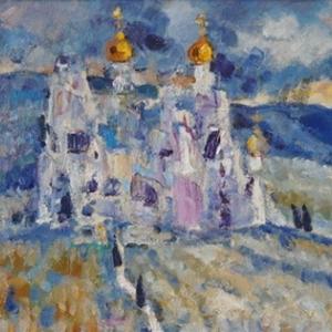 Юбилейная выставка произведений О.М. Савостюка в Воронеже.