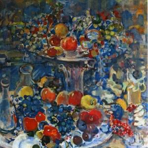 «Поэзия цвета». Выставка Виктора Бедоева в МФЮА.