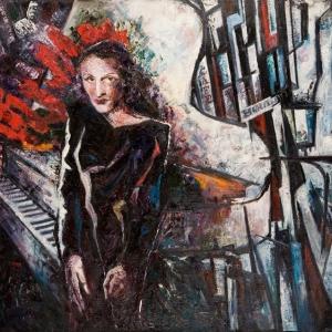 «Остров живописи». Выставка произведений Карины Назаровой.