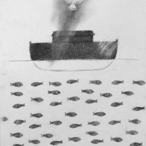 Выставка произведений А.Муравьева в Сверодловске. В рамках фестиваля «Урал-Графо».