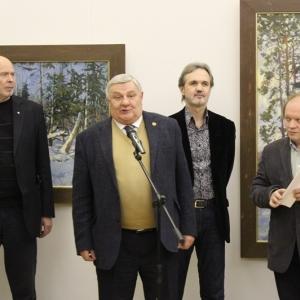 Выставка произведений Владимира Соковнина.