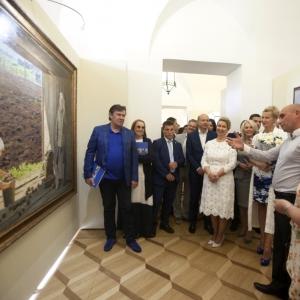 Выставочный проект «Семья - душа России» в Царицыно.