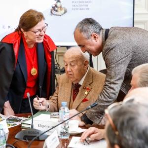 На заседании Президиума РАХ 20 апреля 2021 года