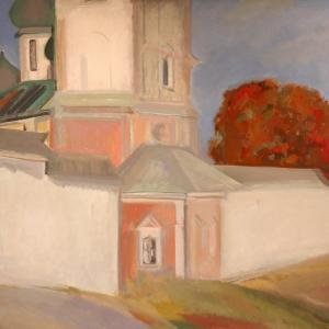 Выставка работ учащихся школы «Живопись без границ» под руководством И.Полиенко в МЦХШ