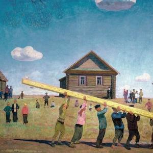 В.М.Сидоров. Миром, 1970