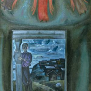 В.Е. Попков. Северная часовня. 1972 г.