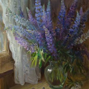 Выставка произведений Дмитрия Слепушкина в Липецке.