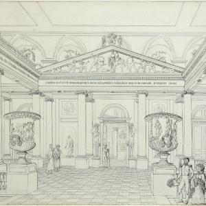 Выставка «Академия трех знатнейших художеств» - 260 лет в НИМ при РАХ.