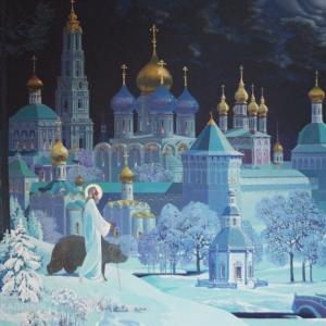 «В кадре - Россия». Выставка живописи Валерия Ржевского в Москве