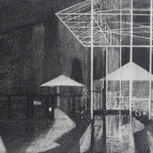Выставка произведений стажеров Творческих мастерских Российской академии художеств.