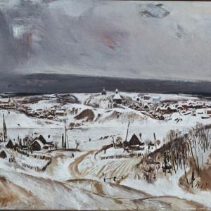 Выставка «Евсей Моисеенко. Живопись. Графика» в НИМ РАХ